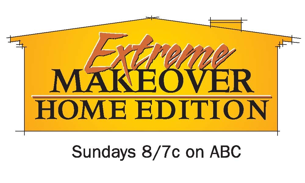 As seen & featured on ABC's Extreme Home Makeover Home Edition